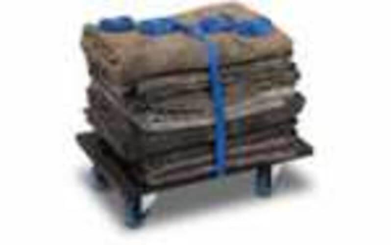 Mini-verhuisset: 4 dekens en 1 rolkar